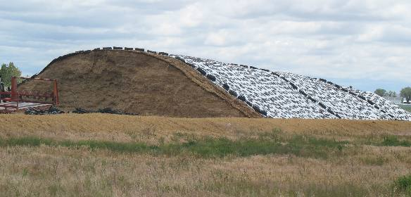Superb Idaho Dairy Silage Storage For Large Operation