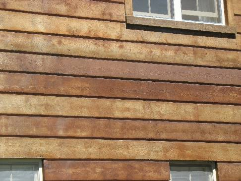 wood siding faux wood siding