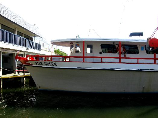 Star queen at capt anderson 39 s marina for Captain anderson deep sea fishing