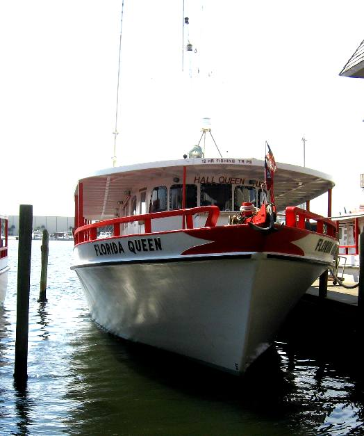 Florida queen for Pcb fishing charters