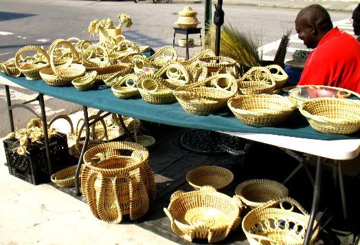 Basket Making Supplies North Carolina : Sweetgrass baskets
