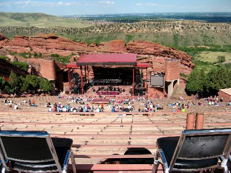 Red Rocks Seating Chart General Admission Red Rocks