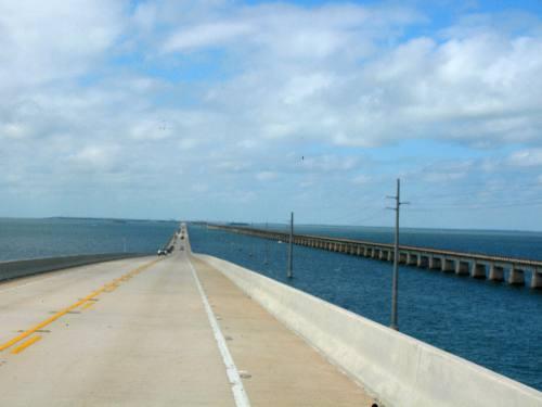 seven mile bridge on us 1 overseas highway in the florida keys